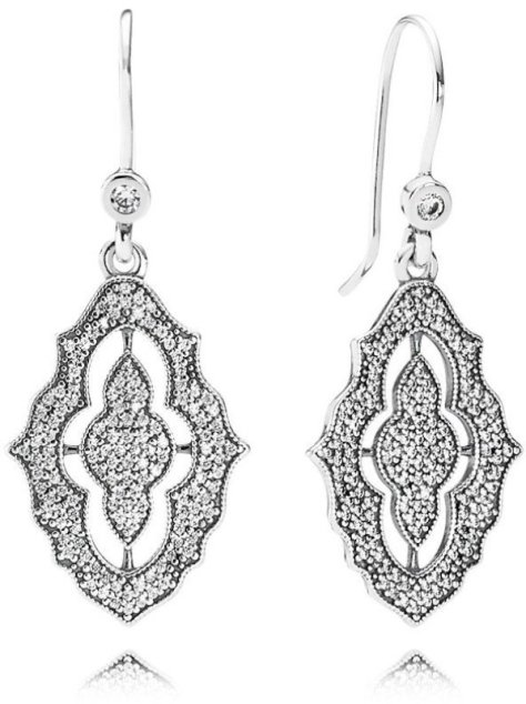 Sparkling Lace Earrings