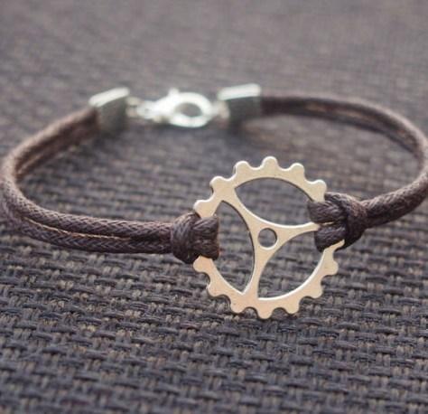 Gearwheel Bracelet for Men