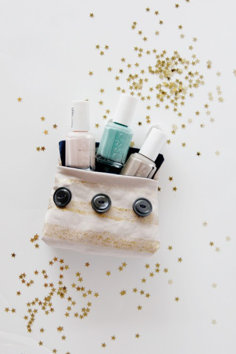 DIY Shimmer And Shine Nail Polish Kit