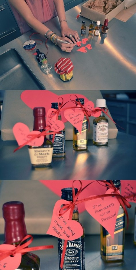 DIY Liquor And Hearts