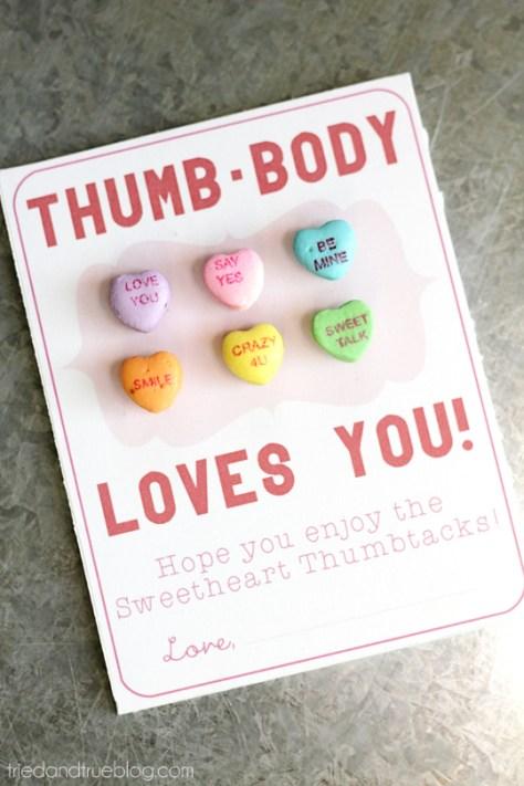 DIY Thumb Body Loves You