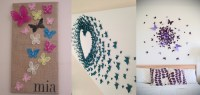 10 DIY Butterfly Wall Decor Ideas With Directions - A DIY ...
