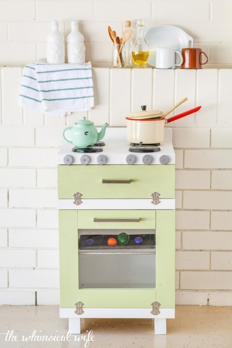 DIY Toy Oven Makeover