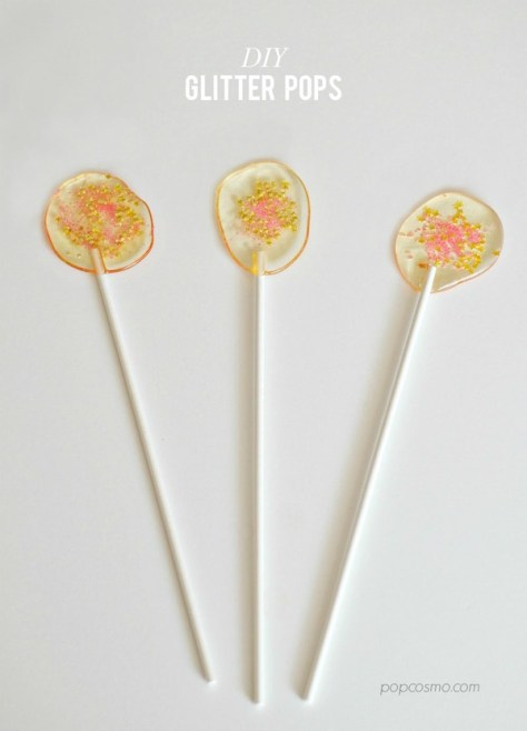 Glitter Lollipops