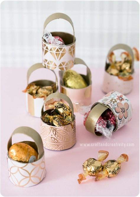 Toilet Roll Mini Baskets