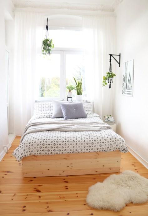 DIY Wooden Bed Frame