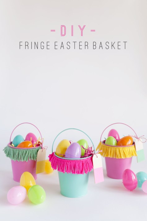 Fringe Easter Basket