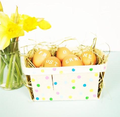 Last minute Easter Basket