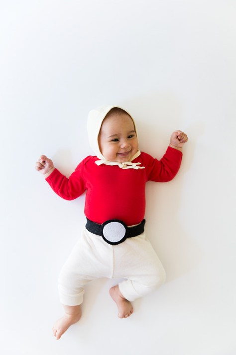 Pokeball Baby Halloween Costume