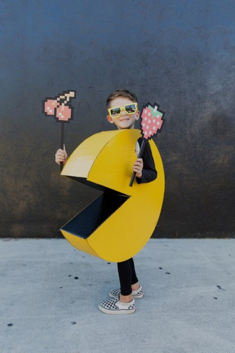 Pac Man Halloween Costume For Kids