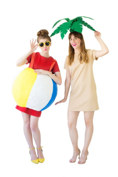 Palm Tree Beach Ball Costumes