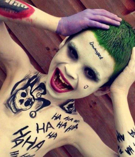Suicide Squad Halloween Makeup