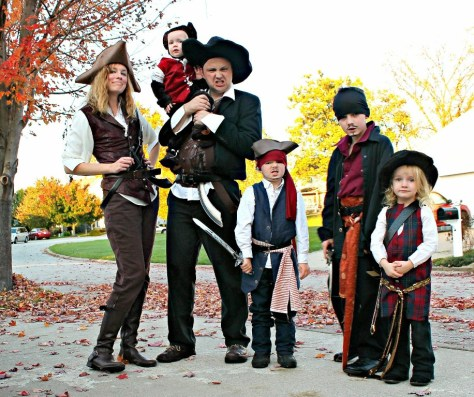 Pirates of the Caribbean Halloween Costumes