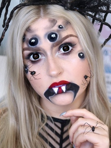 Spider Halloween Makeup