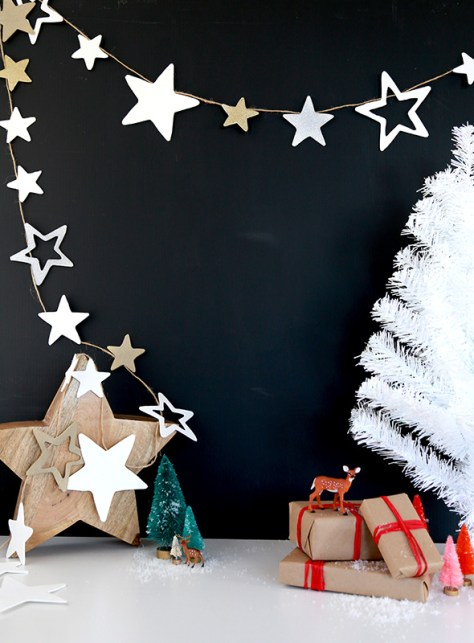 Star Garland Christmas Decoration