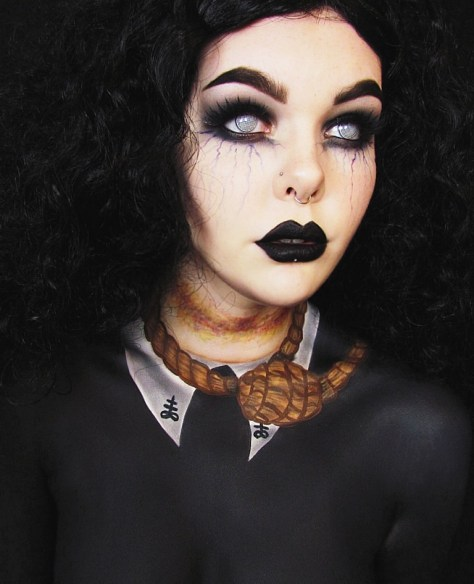 Salem Witch Makeup