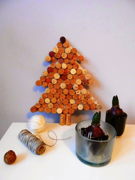 Wine Corks Christmas Tree
