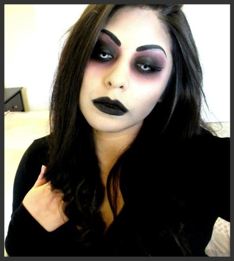 Dark Witch Halloween Makeup