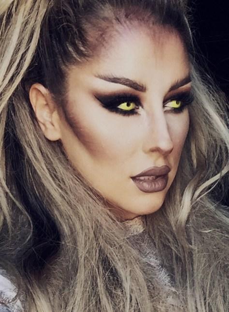 Werewolf Halloween Makeup