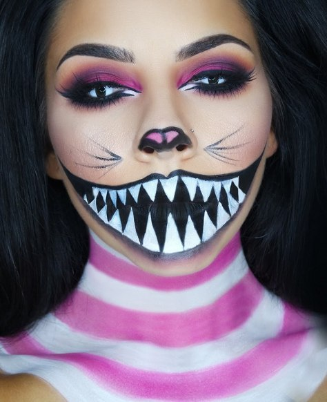 Creepy Halloween Makeup Ideas You Love to Try - A DIY Projects