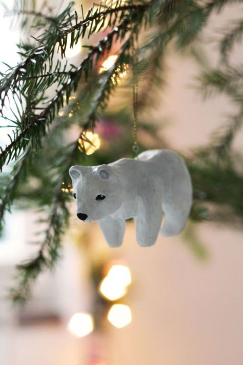 Clay Animals Ornaments