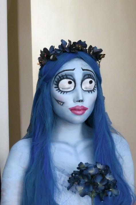 Bride Halloween Makeup