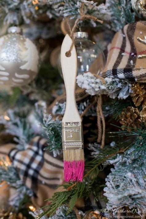 Paint Brush Ornament