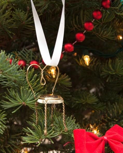 Champagne Ornaments