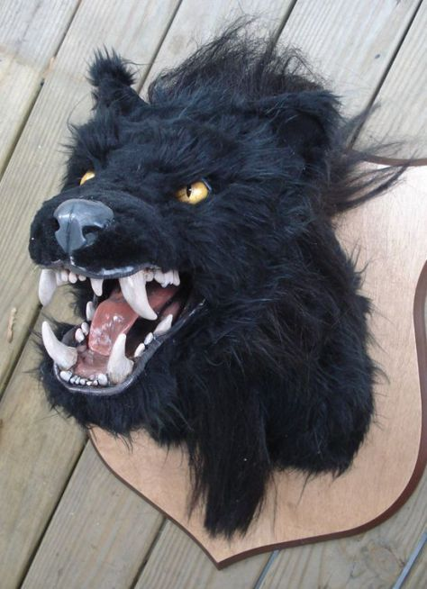 Werewolf Head Door Decoration