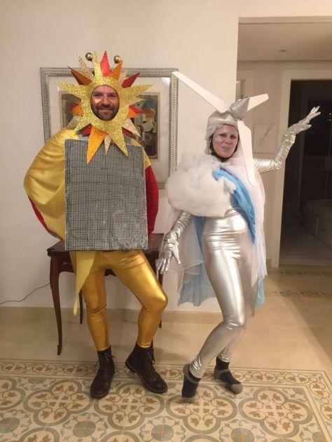 Solar & Wind Halloween Couples Costume