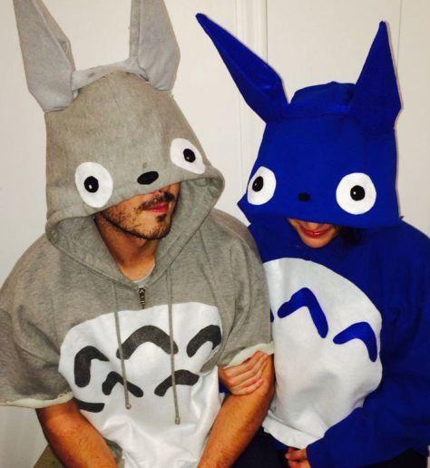 Totoro Couples Halloween Costumes