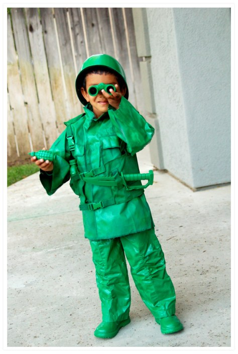 Army Man Halloween Costume