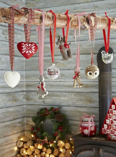 Rustic Nordic Inspired Christmas Decor