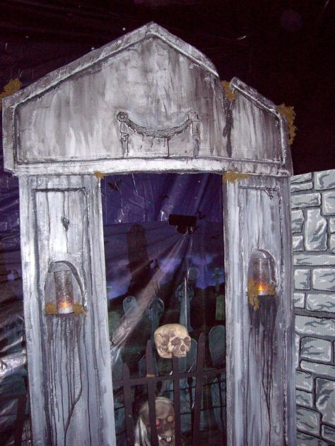 Mausoleum From Styrofoam