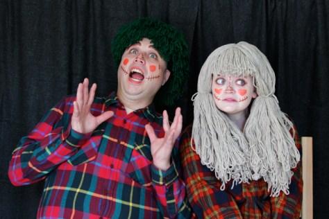 Scarecrow Couples Costume