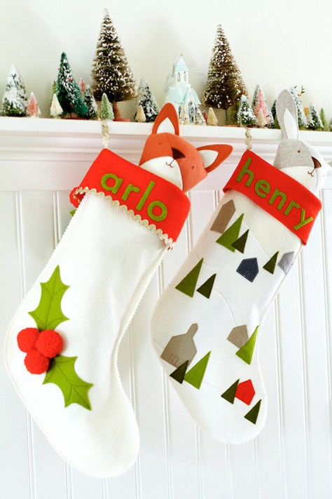 DIY Felt Stocking