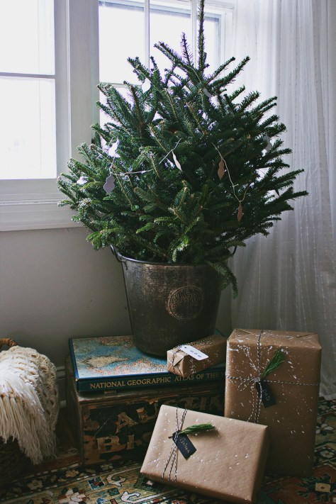 Modern Mini Christmas Tree