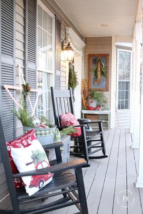 Nordic Porch Decorating