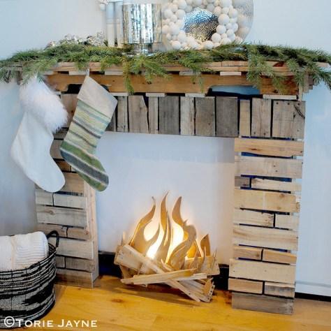 Mock Fireplace