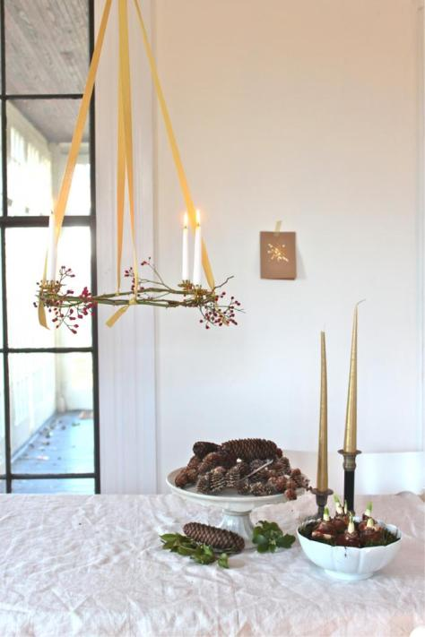 Advent Wreath Decoration