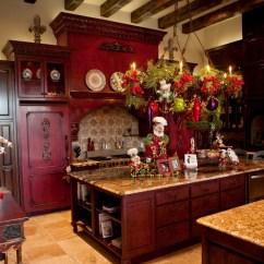 Kitchen Island Centerpiece California Pizza App Christmas Decorations - Diy ...