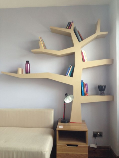Christmas Bedroom Shelves