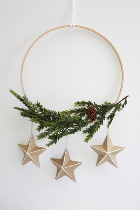 Scandinavian Christmas Wreath