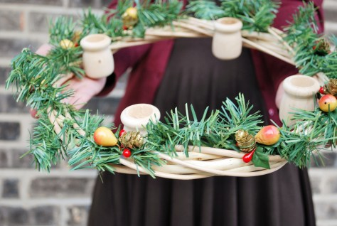 Wooden Advent Wreath
