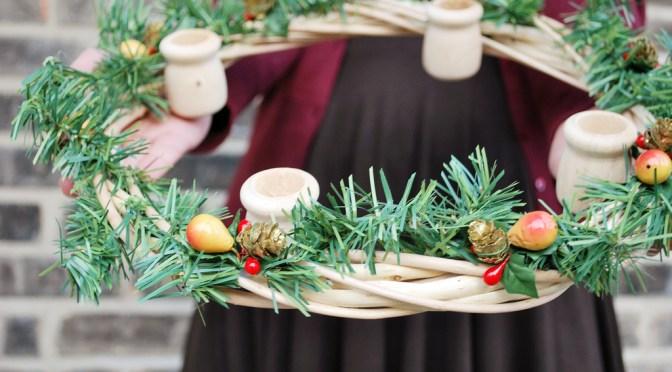 10 Creative DIY Advent Christmas Wreath Decoration Ideas