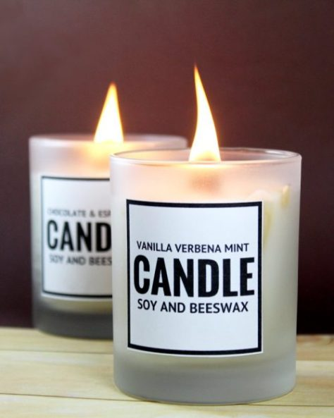 Soy and Beeswax Candles