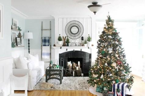 Living Room Christmas Tree