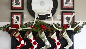 30 beautiful christmas mantel decorations ideas - Twas The Night Before Christmas Decorating Ideas