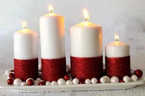 Glitter Candles