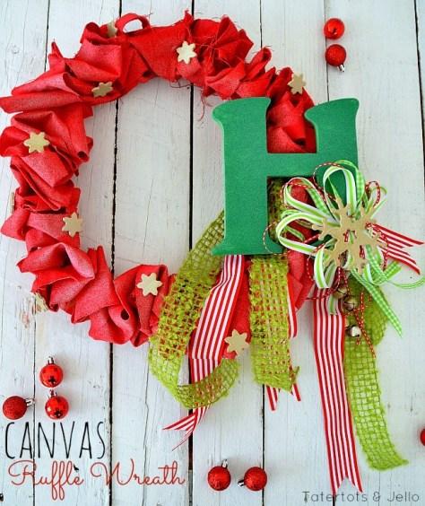 Canvas Wreath